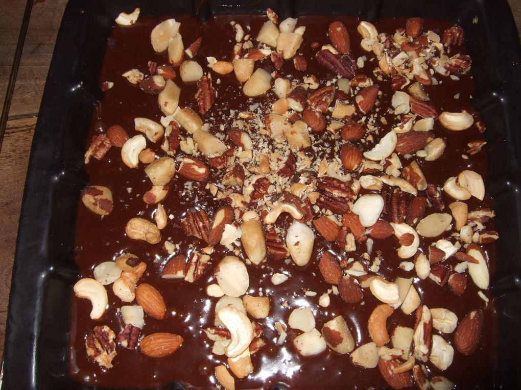 brownie gourmand a la crème de marron