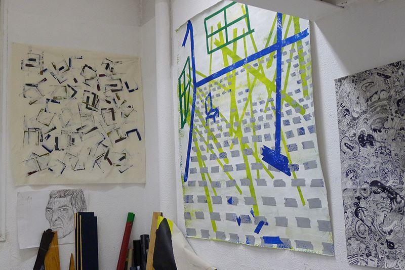 Le Pop Club de l'école des beaux arts comme si vous y étiez: crédit Bettina David-Fauchier et Nicolas Caudeville