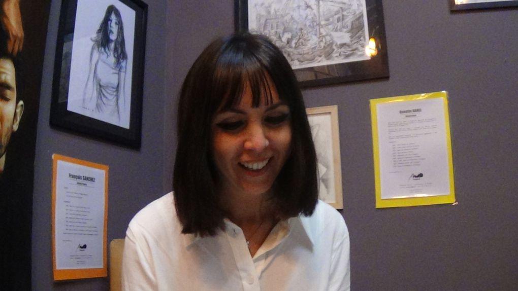 Perpignan: qu'est ce que c'est l'amour? expo à l'Engrenage, ce soir! interview Marion Jaillot par Nicolas Caudeville