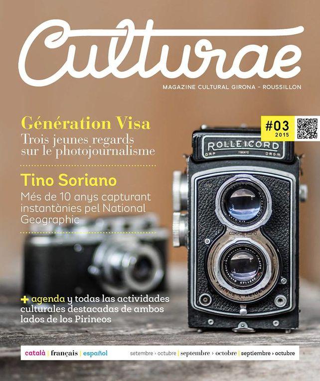 Transfrontalier: la revue Culturae efface les frontières entre Gérone et Perpignan! interview Ana Maria Cabero par Nicolas Caudeville