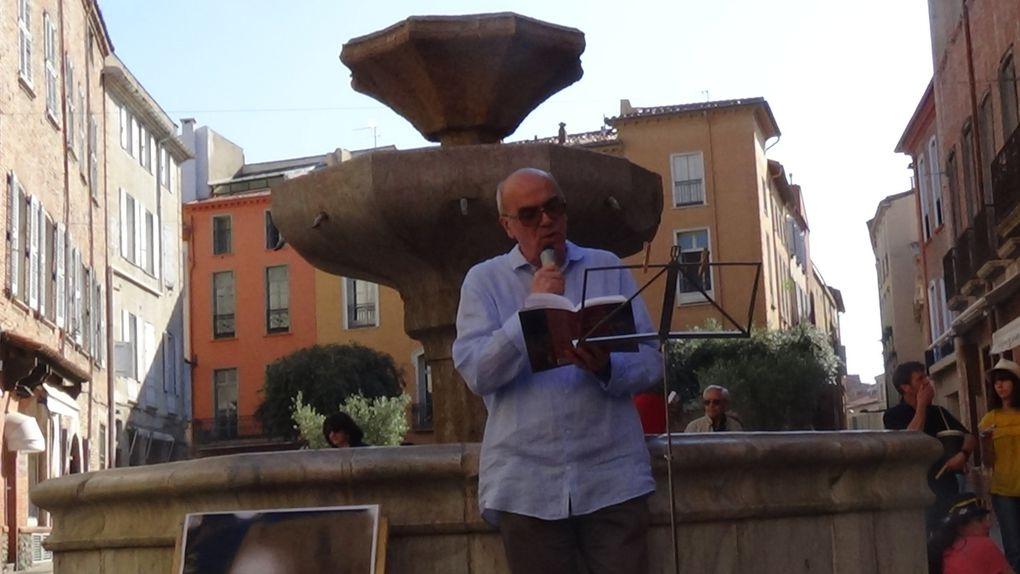 Perpignan/vidéo:Le défilé du Condottiere , hommage à l'écrivain Henri Lhéritier!