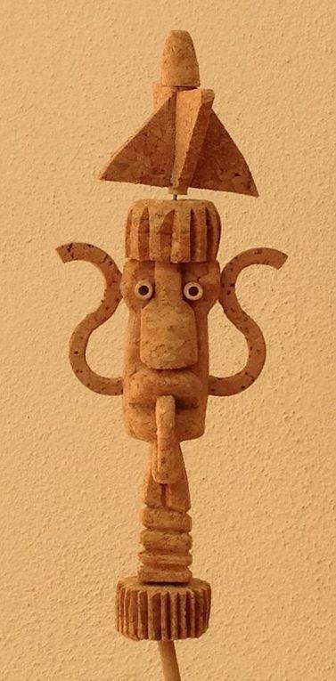 Perpignan/expo sculptures: algunes kanyataps per tu! interview pere Figueres par Nicolas Caudeville