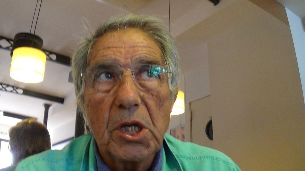 ST Cyprien/gifles: un débat sur l'art,le maire Delposo versus son opposant Jean Jouandet! interview Jean Jouandet par Nicolas Caudeville