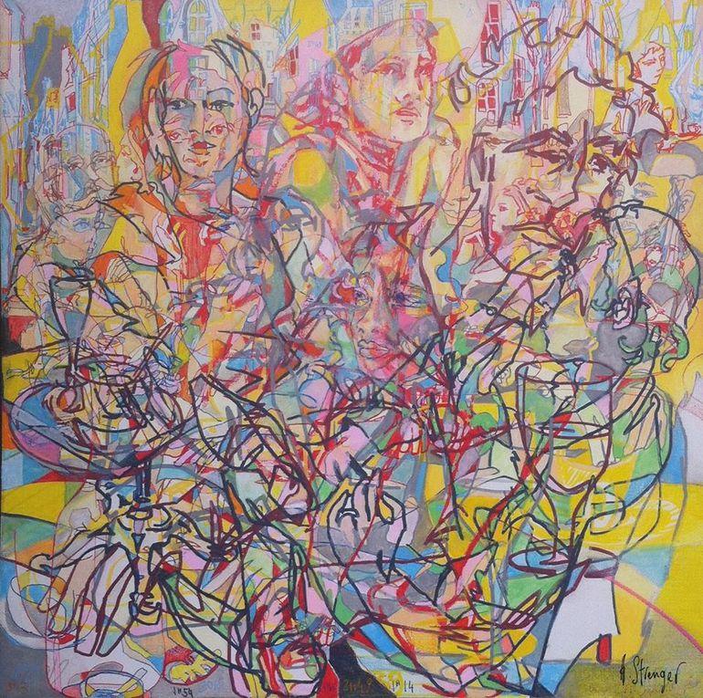 Perpignan: l'arthotéque au centre d'art à cent mètres du centre du monde! interview Evina Loos par Nicolas Caudeville