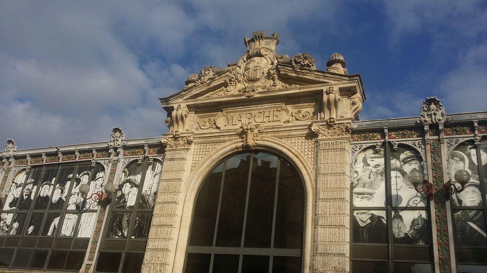Narbonne: cachez ces halles que je ne saurai voir à Perpignan! interview Jean Lhéritier par Nicolas Caudeville