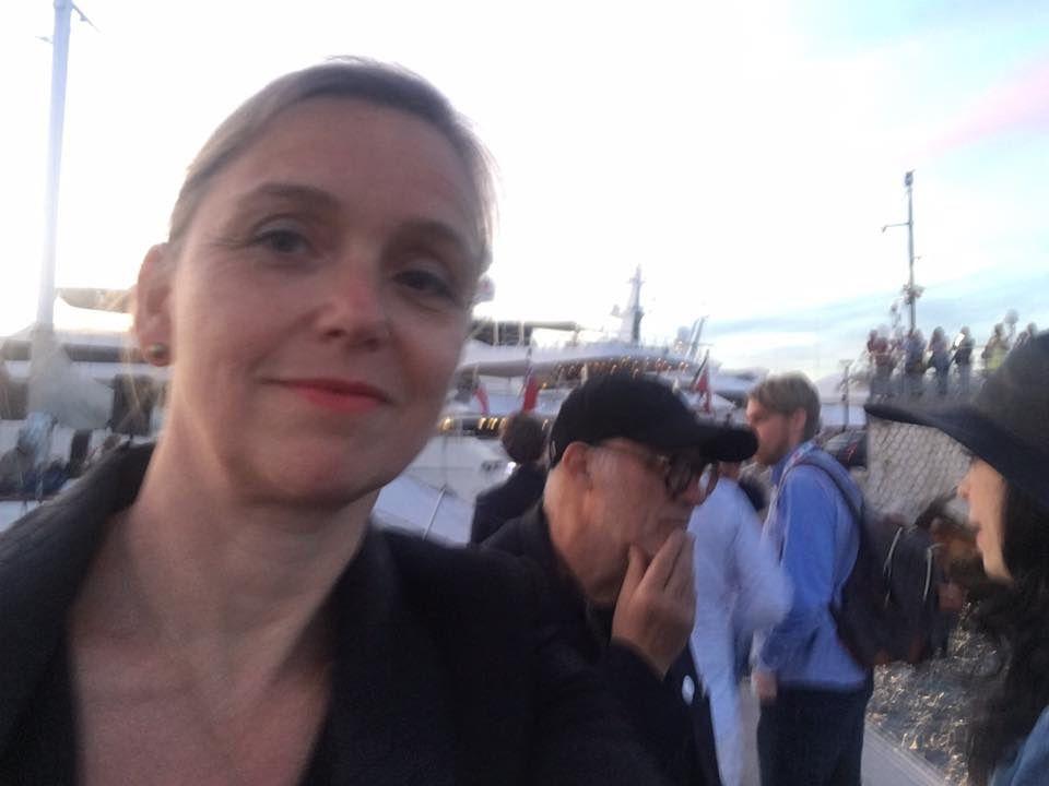 Perpignan/festival de Cannes: la galeriste d'Artrial Céline Marcadon y était ! interview par Nicolas Caudeville