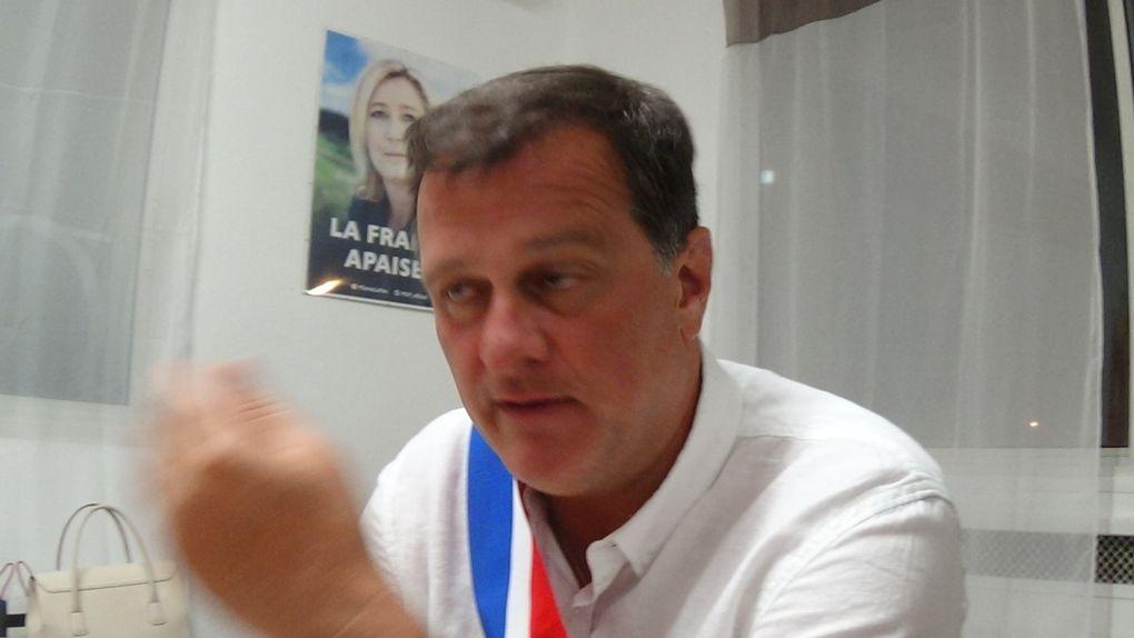 Législatives/PO: après une quatrième tentative, le FN Louis Aliot est élu député! interview par Nicolas Caudeville