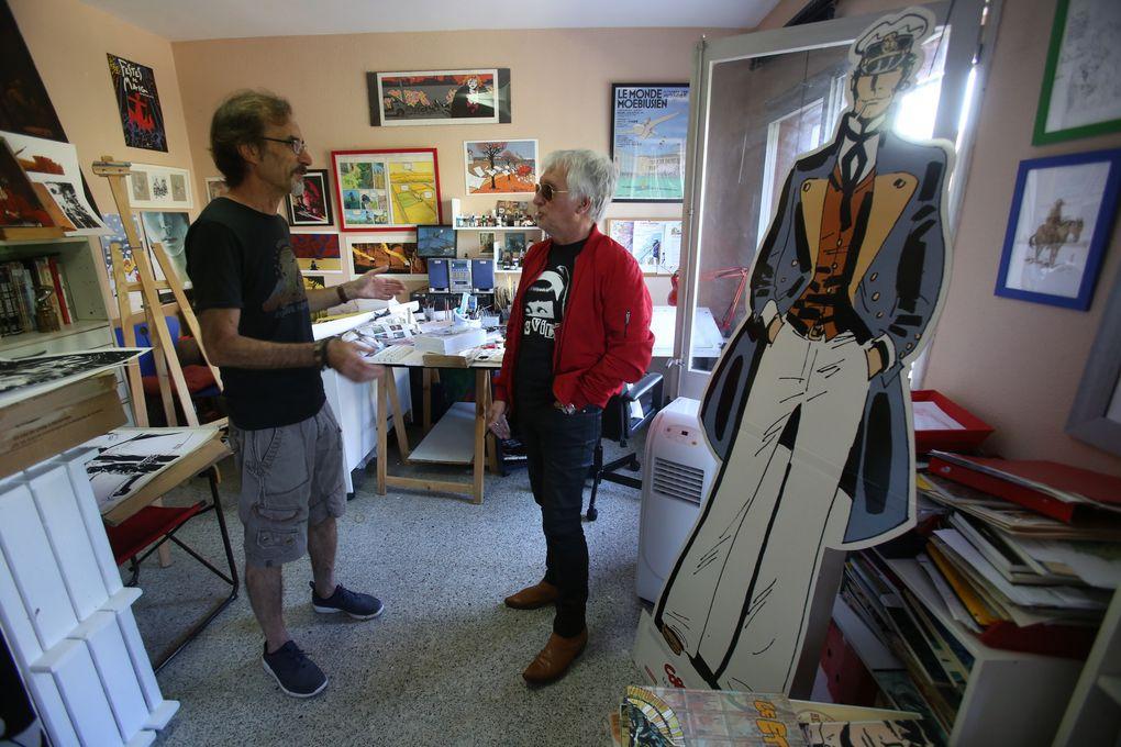 Chuck Berry , Ruben  Pellejero, Jean Casagran :crédit photo Thierry Grillet