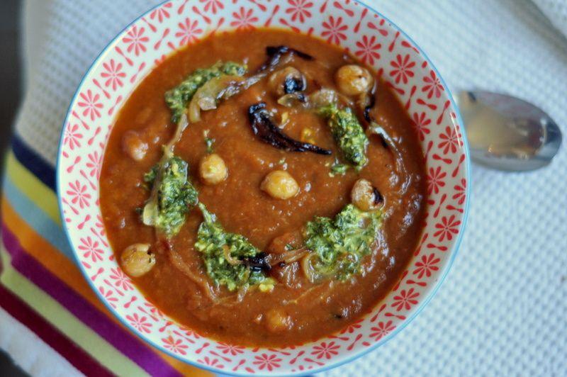 Soupe de légumes aux épices