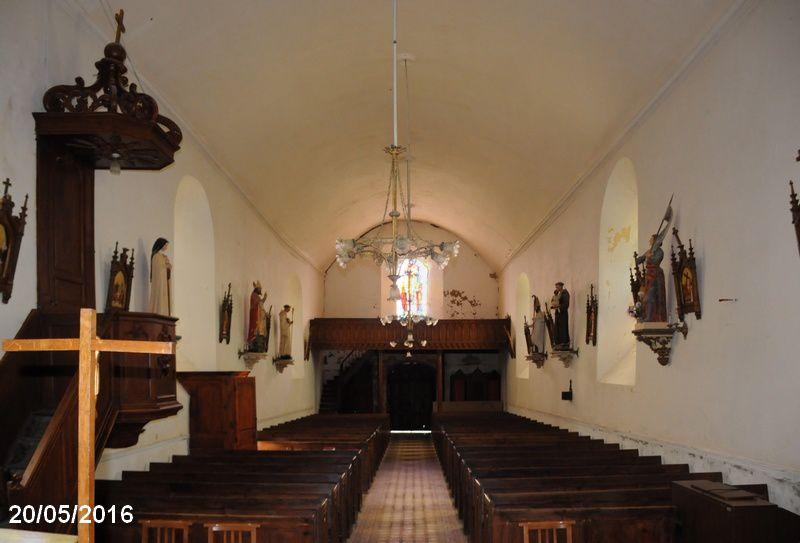 Le Theil , l'église