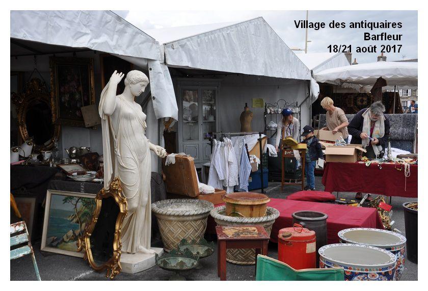 Barfleur : village des antiquaires