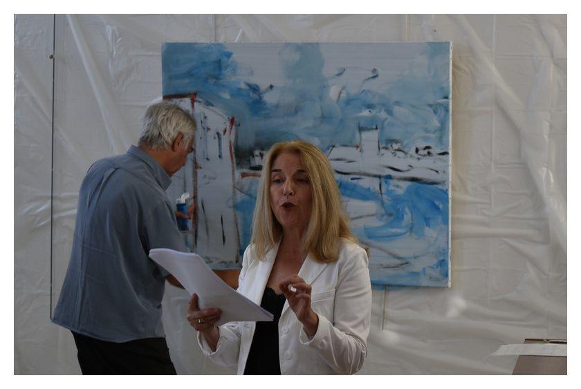 Barfleur Exposition performance : Gilbert CONAN et ses amis (1/2)
