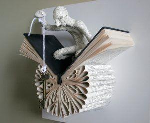 sculptures livresques