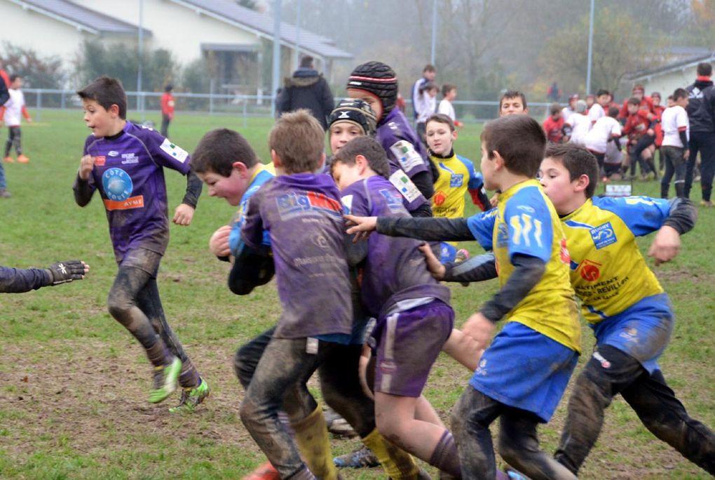 120 jeunes rugbymans au stade du Champ