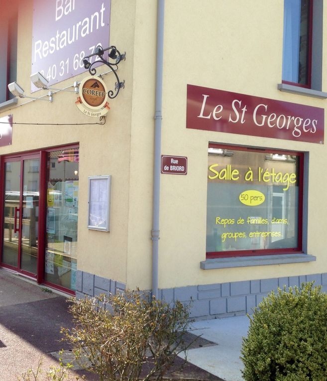 Photos au Restaurant Le St Georges le 19 mars 2015&#x3B;