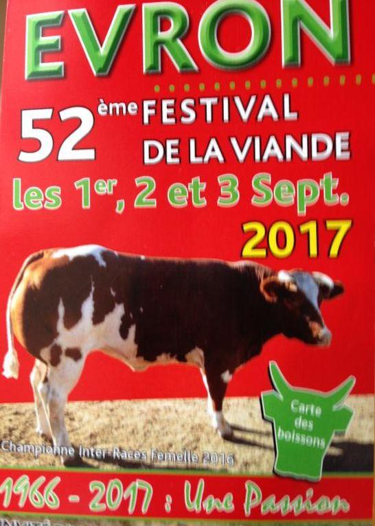 EVRON. 52eme festival de la viande 2017.