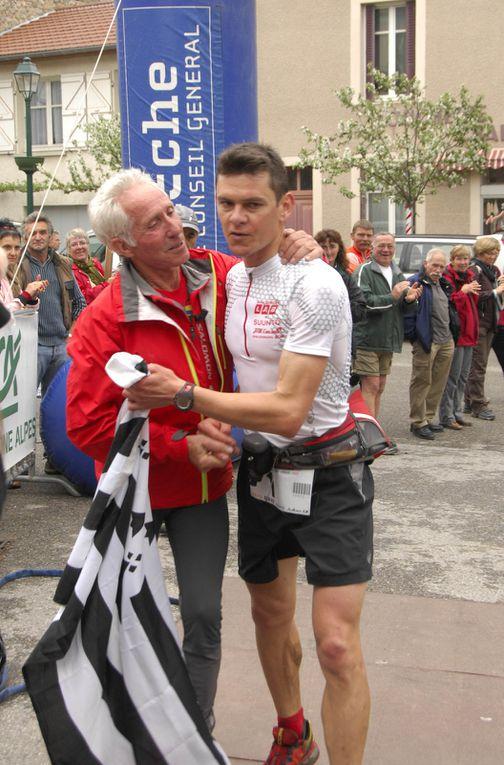 2 et 3 mai 20ème édition du trail l'Ardéchois : Loulou Chantre tire sa révérence