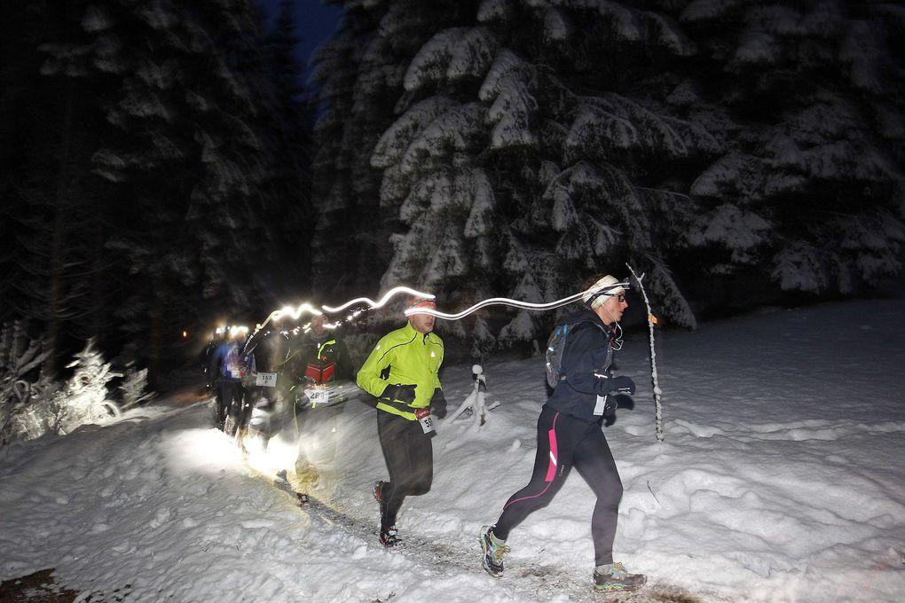 Thibaut Baronian vainqueur du 13 km de l'Xtreme trail Blanc de Mouthe