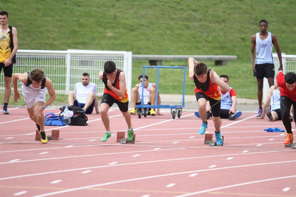 """Cela fleure bon l'été, l'athletisme  local retrouve la piste et le """"plein air"""" à Parilly."""