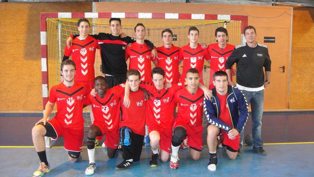 Les espoirs de Vénissieux Handball en quart de finale du Championnat de France excellence