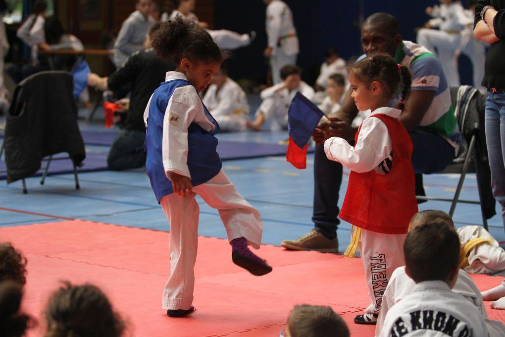 Le gymnase Jacques Anquetio a connu une forte affluence avec le premier interclubs de Vénissieux Taekwondo