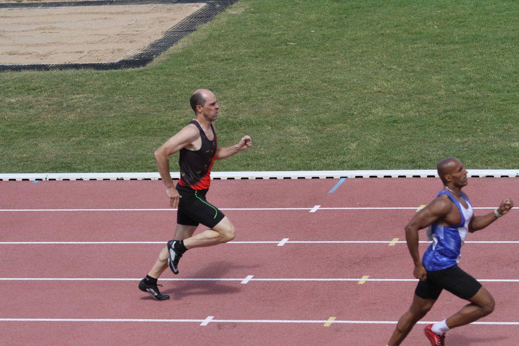 Les championnats de France d'athlétisme vétéran ont été d'excellente qualité