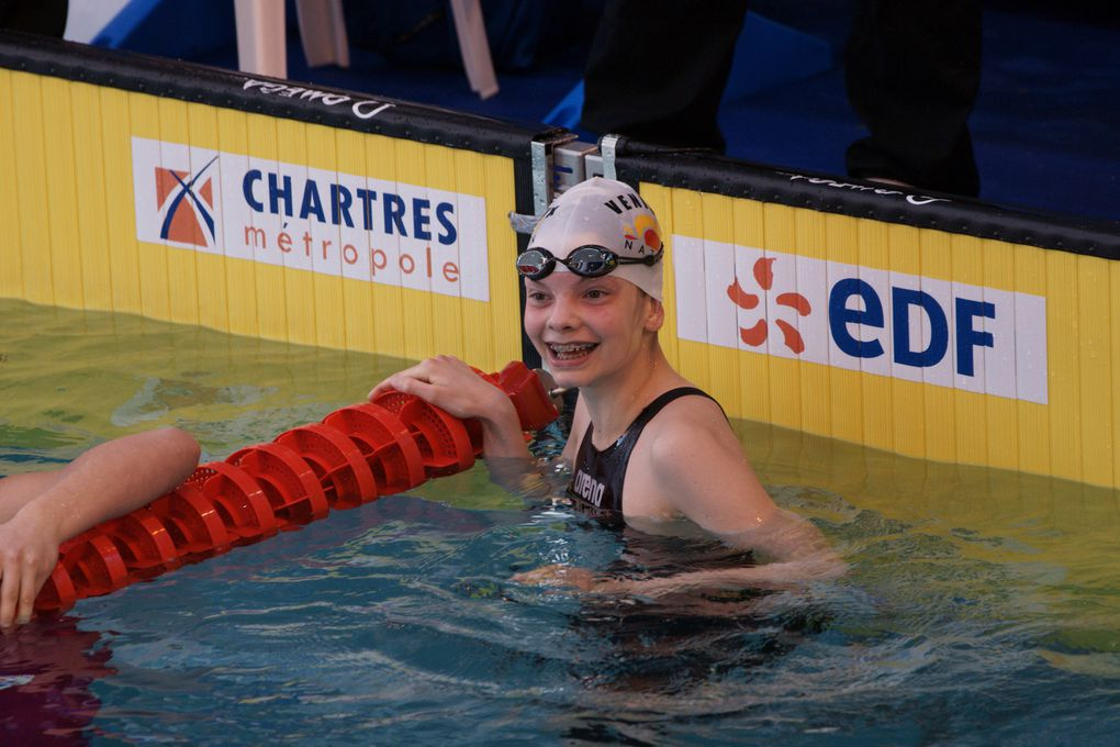 Carine Battie l'entraîneur et Lucile Rouilly la nageuse - Photos : DR