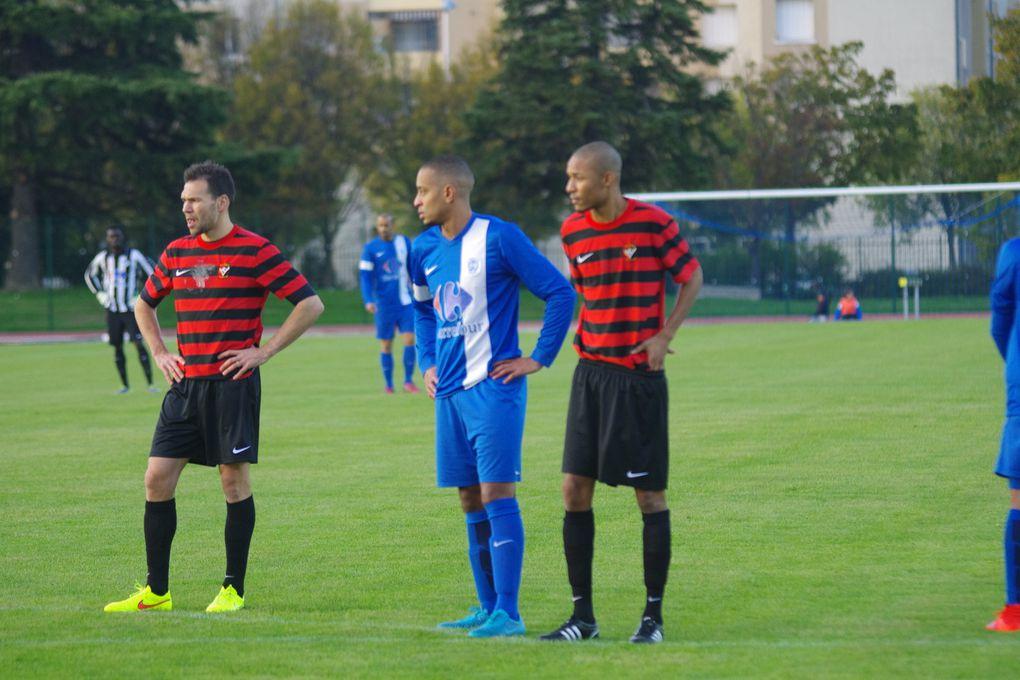 L'AS Minguettes a concédé une défaite dans le derby de l'est lyonnais