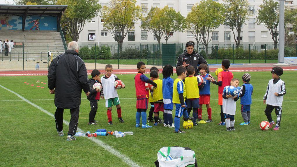 Cent enfants ont participé au stage de la Toussaint de l'US Vénissieux Football