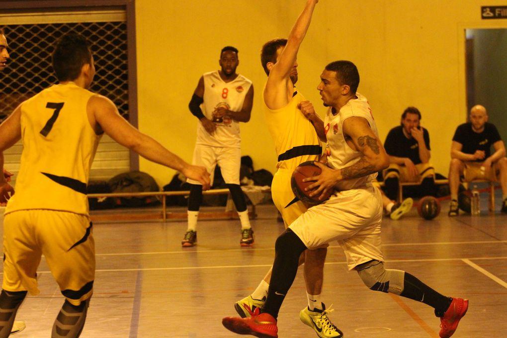 Les  basketteurs du CLAMV échouent d'un rien face à ASC Mont d'Or