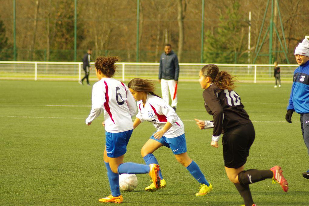 Le football féminin est en progression également du côté de l'AS Minguettes