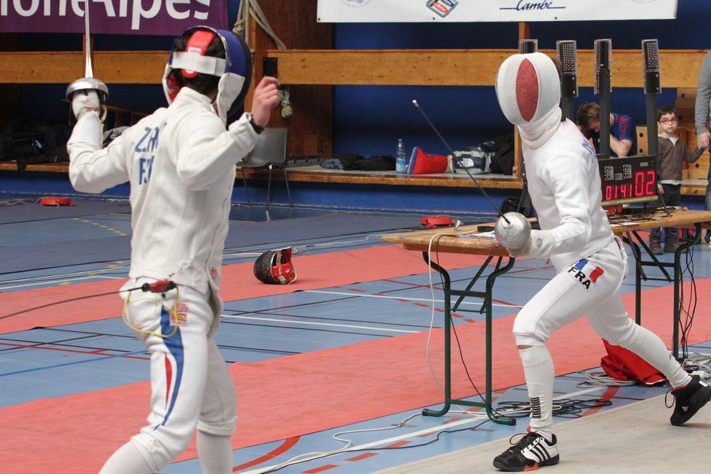 La 16e édition du Circuit national à l'épée seniors masculins a été une parfaite réussite