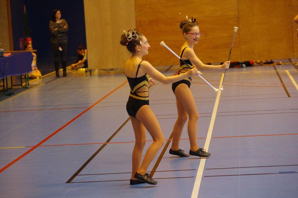 Grosse affluence pour le challenge de la ville de twirling-bâton organisé par Vénissieux Twirling-bâton.