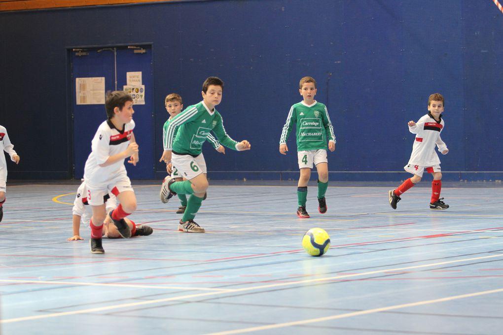Gros succès d'affluence des trois tournois de football en salle organisés par l'US Vénissieux