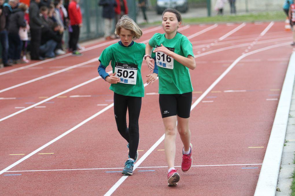 Le temps était idéal pour la pratique de la marche athlétique