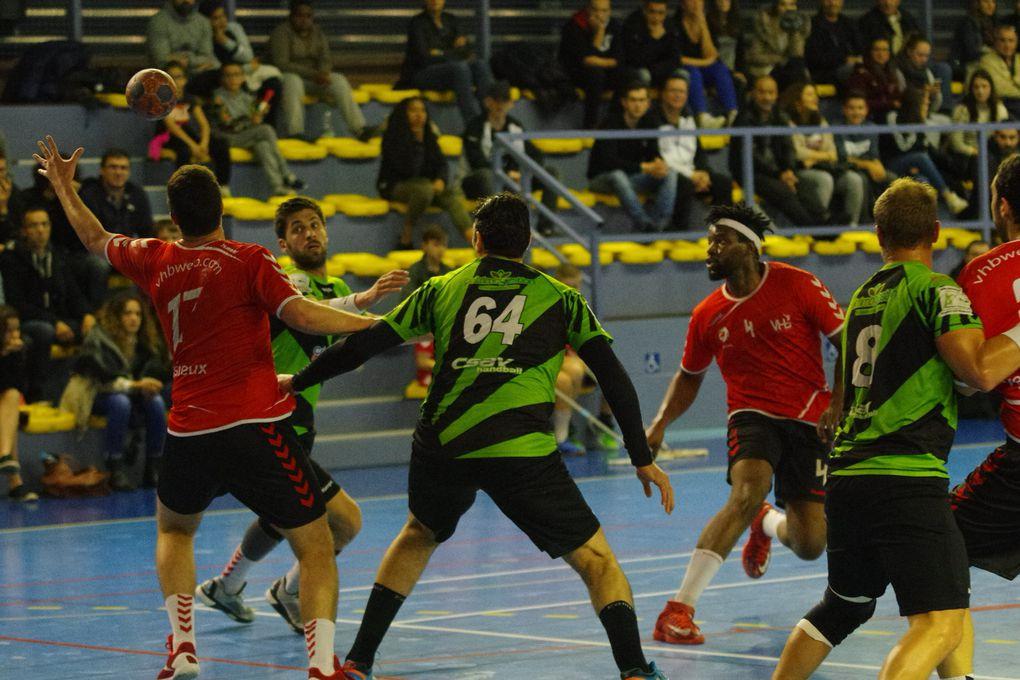 Vénissieux Handball est passé à côté d'une occasion en or de revenir dans la course à la montée en N1
