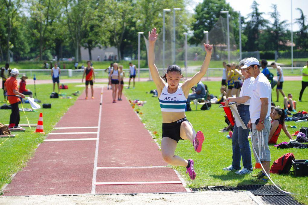 Lers athlètes rhôdaniens ont bien préparé les championnats régionaux qui ont  lieu ce week-end toujours à Parilly.