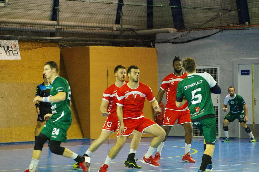 Les Vénissians ont éliminé Saint-Etienne Handball (N1) au 4e tour de la Coupe de France