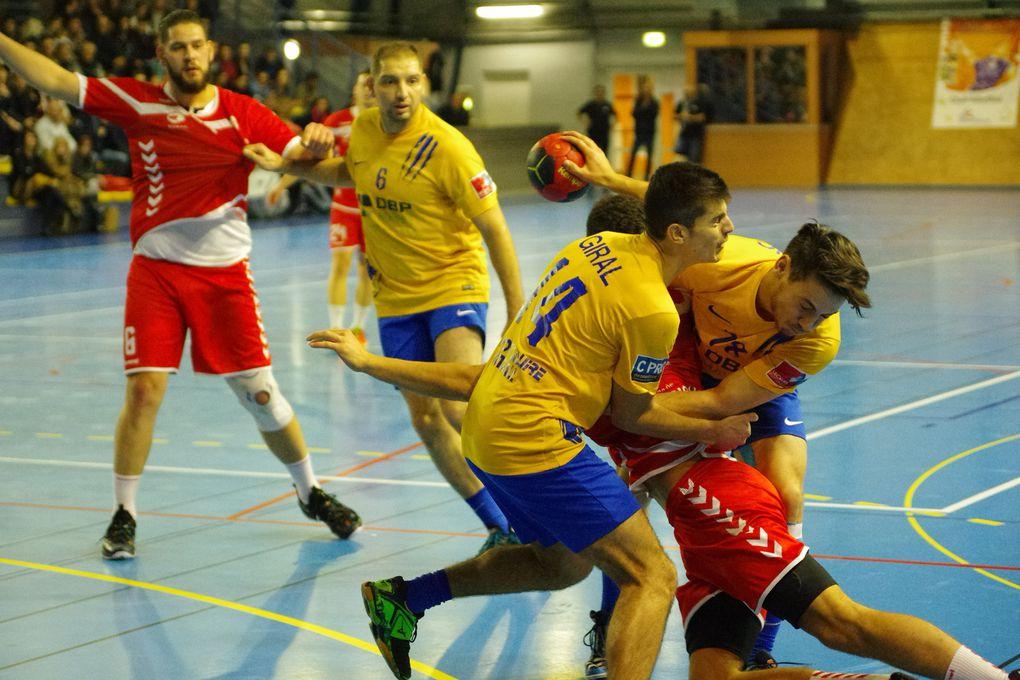 V2nissieux Handball fait un rapproché intéressant vers la tête du classement