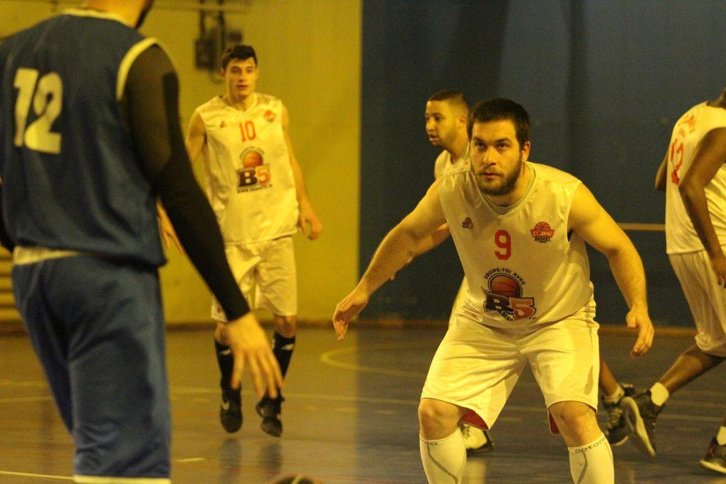 Les basketteurs du CLAMV ont obtenu leur 10e victoire de rang face à l'AL Irigny