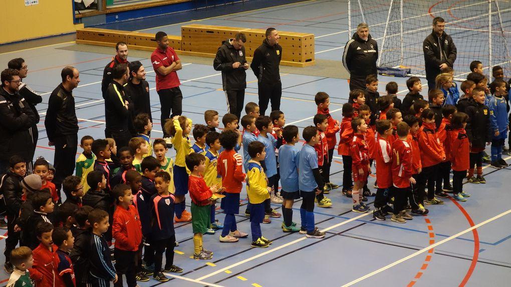 Plus de 200 enfants ont participé aux deux tournois de football en salle de l'US Vénissieux