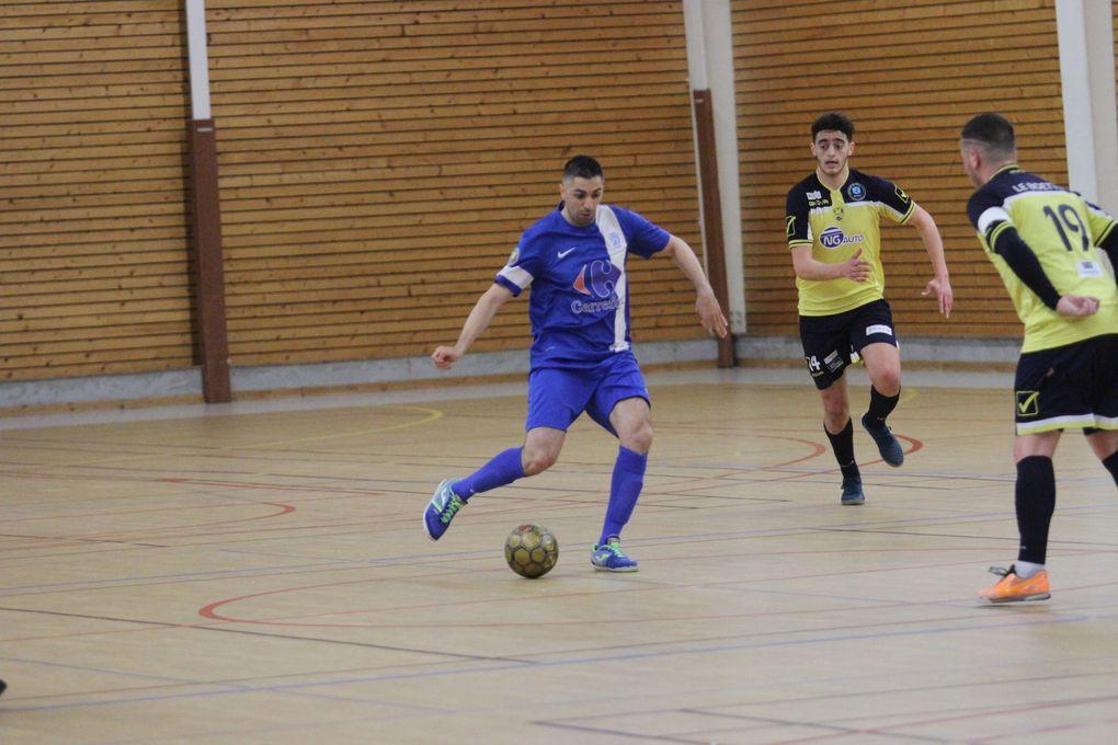 L'AS Vénissieux Minguettes Futal a fait trembles les pensionnaires de D1 du Nantes Erdre Futsal