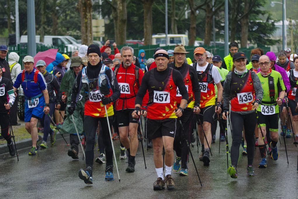"""La matinée """"Marche nordique"""" a attiré 270 courageuses et courageux."""