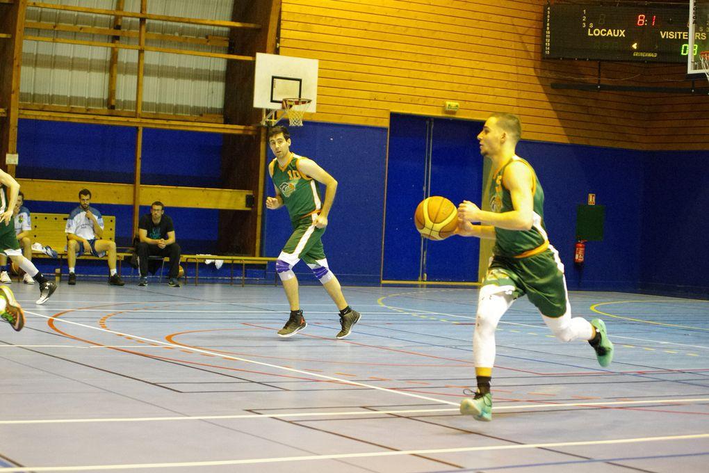 L'équipe fanion masculine de l'ALVP Basket est en difficulté