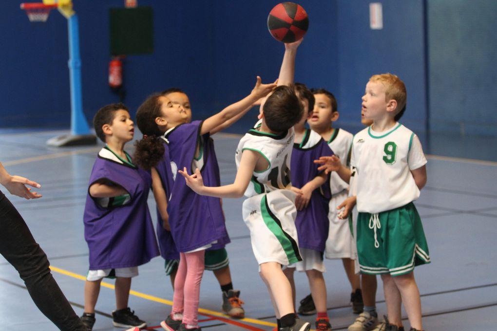 Le plateau baby basket a reuni une soixantaine d'enfants