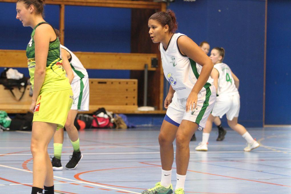 Les basketteuses de Parilly ont encaissé leur première défaite de la saison