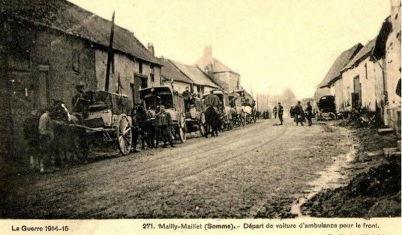 ALBUM. Ambulances des différentes armées alliées lors de la guerre 1914-1918