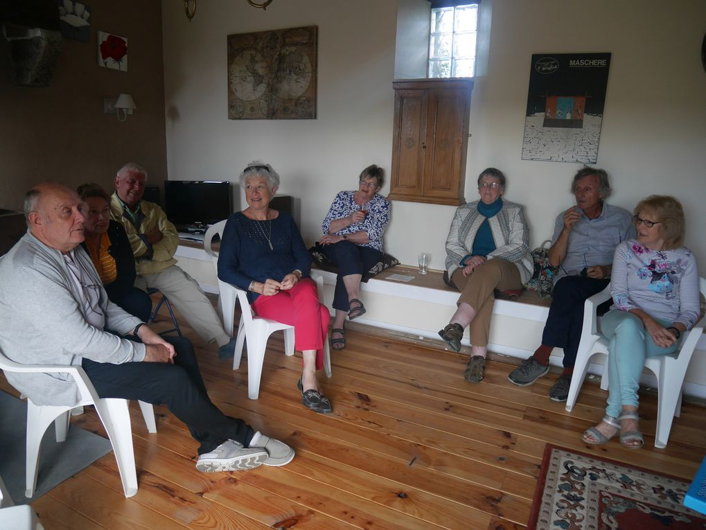 D.O.D.I. PROJECT 18 - FUNDRAISING BRAINSTORMING AT SUSAN AND PETER'S IN LOGE FOUGEREUSE