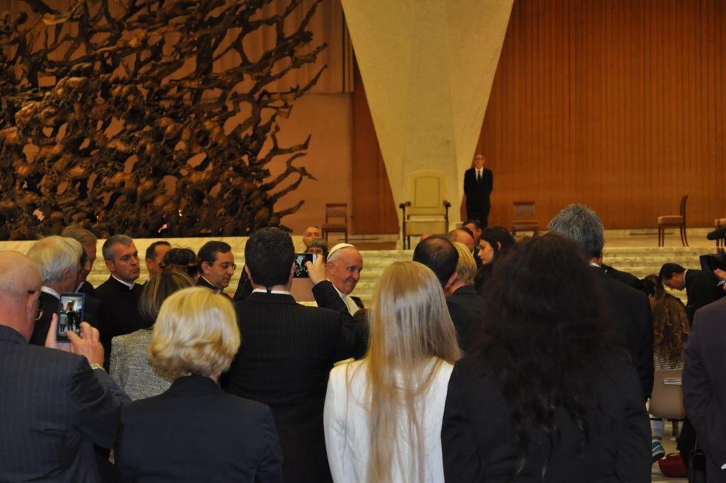 ROMA: PAPA FRANCESCO HA RICEVUTO I FAMILIARI DELLE VITTIME DEL 14 LUGLIO IN NIZZA