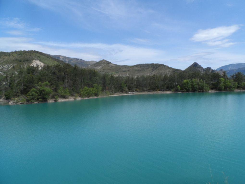 Audépart nous sommes au niveau du lac